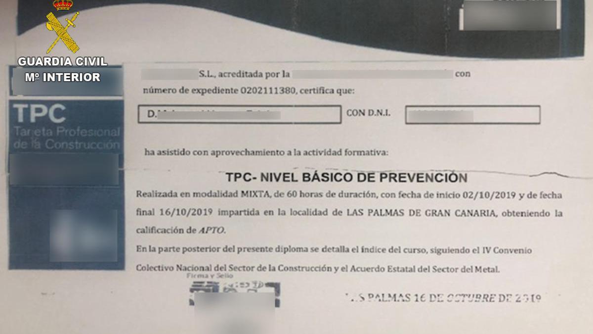 Realizaba falsas ofertas de trabajo en Gran Canaria