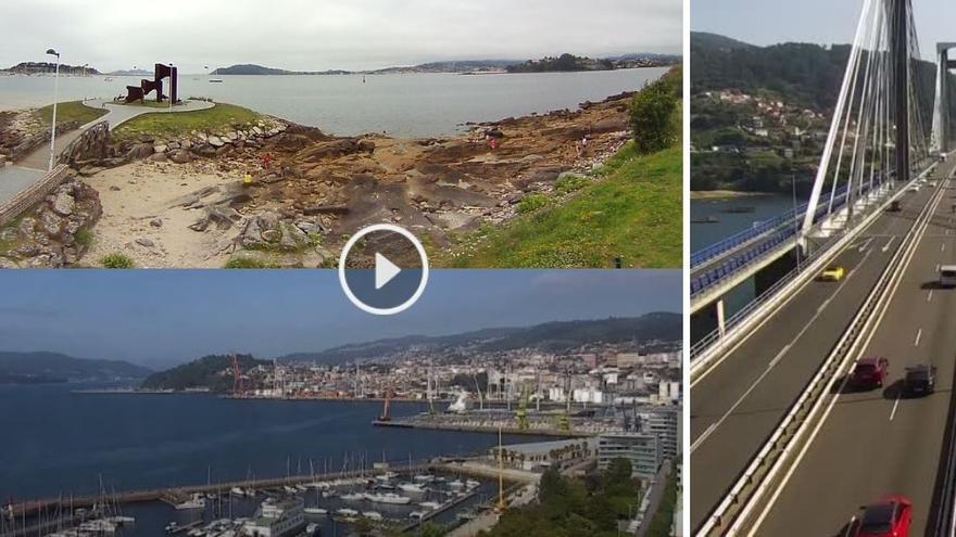 """Para ir a la playa o ver el tráfico: el """"Gran Hermano"""" de las cámaras web de Vigo"""