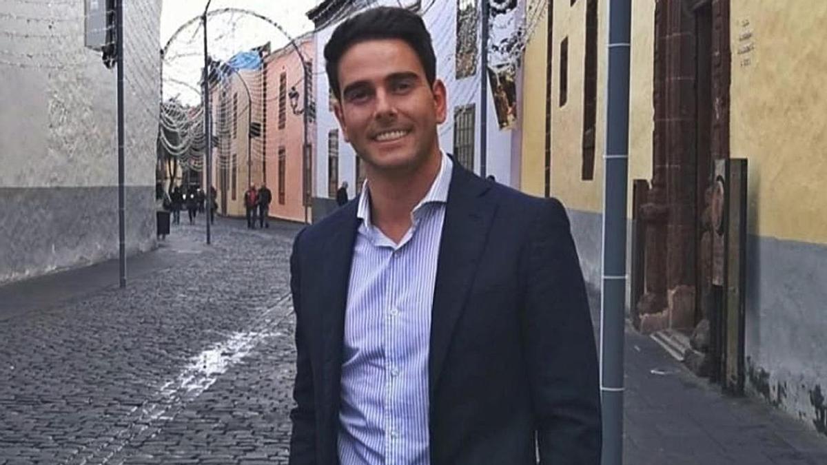 Alfredo Gómez, concejal de Ciudadanos y presidente de la Comisión de Transparencia de La Laguna.     E.D.