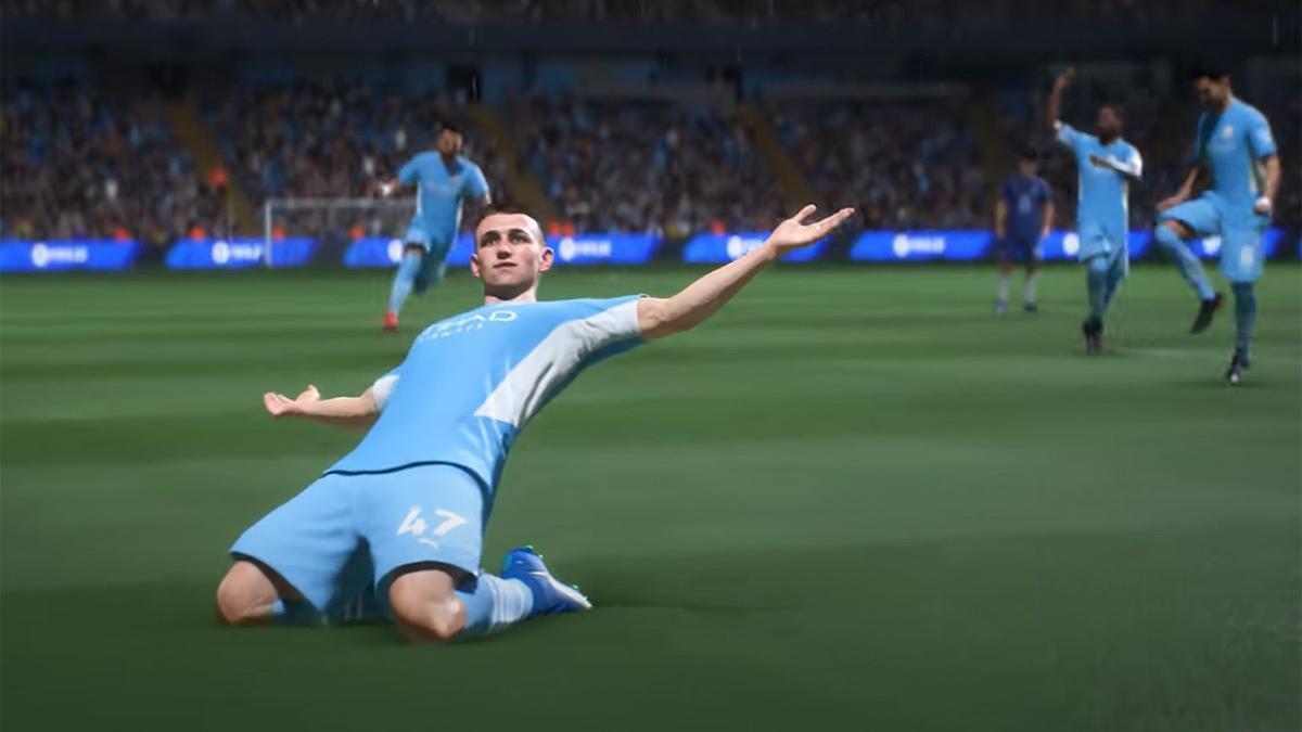 Una imagen del nuevo 'FIFA 22'.
