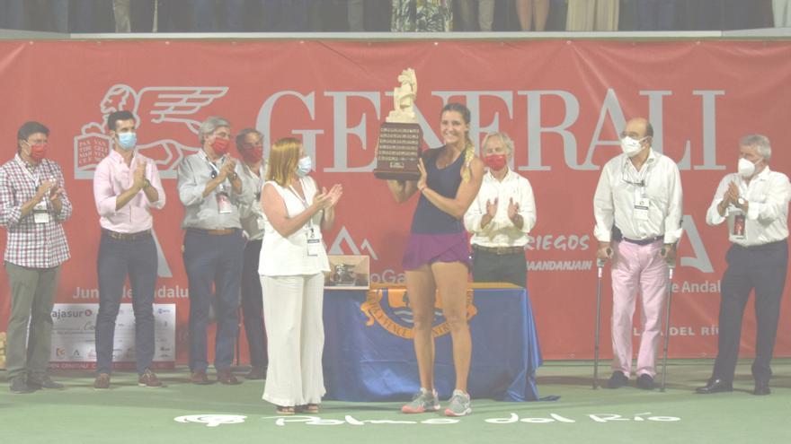 Rebeka Masarova se lleva el Open Generali Ciudad de Palma del Río de tenis