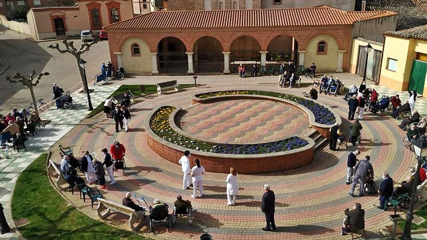 La residencia de Villalpando detecta dos casos de coronavirus entre sus usuarios