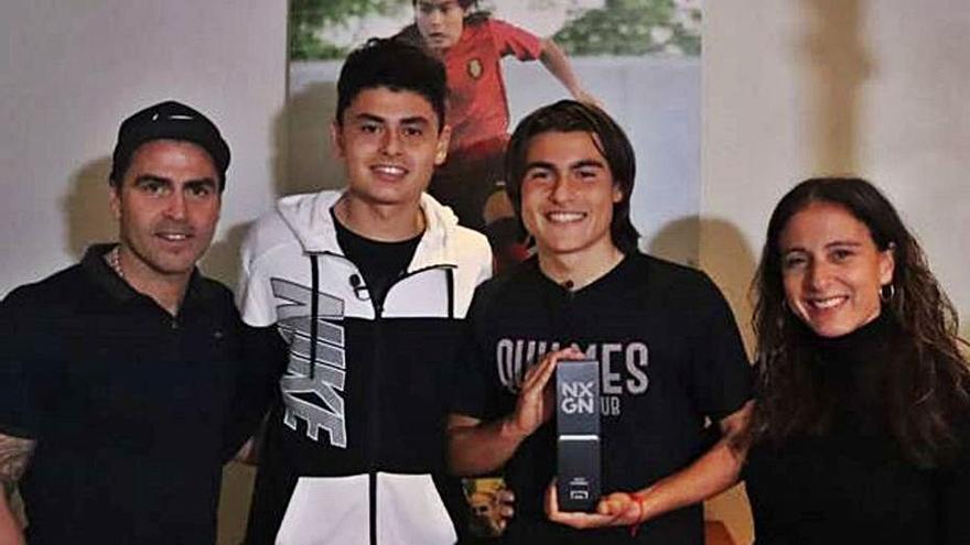 Luka Romero afirma sentirse «cómodo» con la camiseta del Mallorca