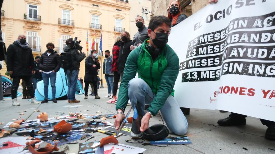 El ocio se planta en València