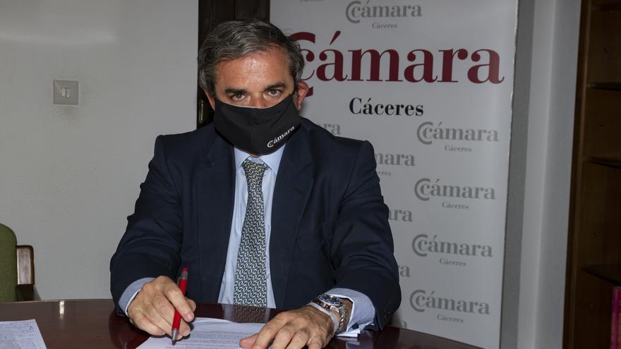 La Cámara aboga por la unidad de las organizaciones empresariales para recuperar el tejido empresarial de Cáceres