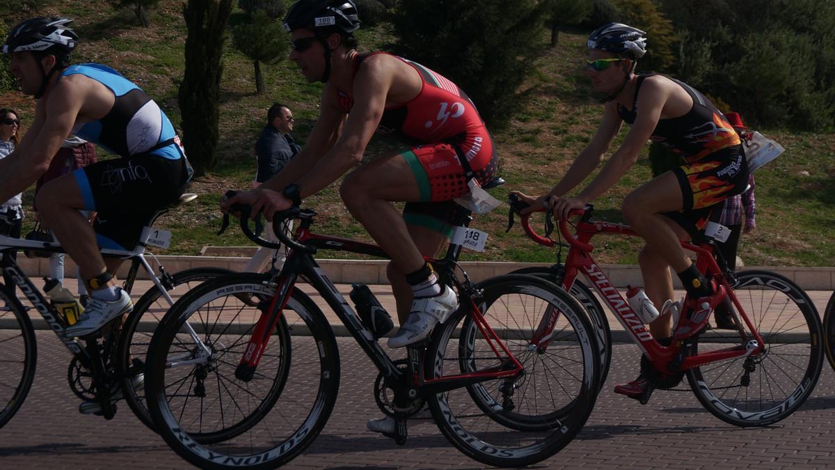 Alfonso Martínez, en el sector de bicicleta.
