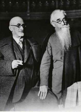 con jacinto benavente 1933.jpg