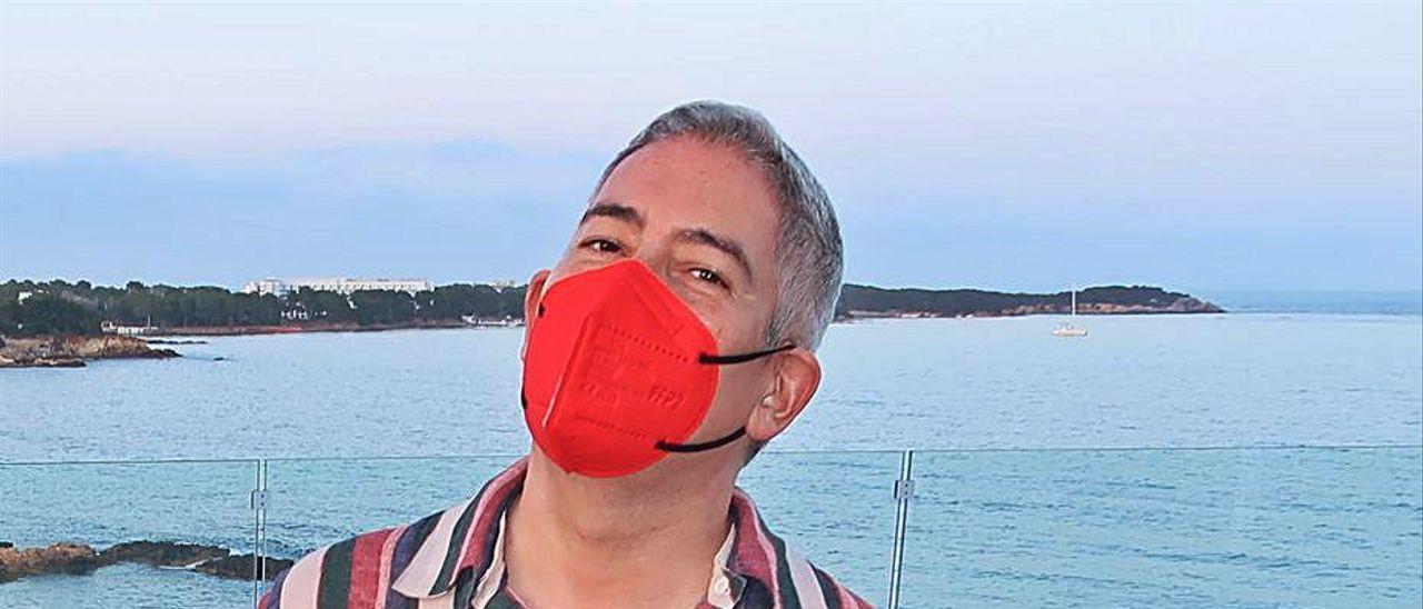 Boris Izaguirre, en una reciente visita a Santa Eulària.