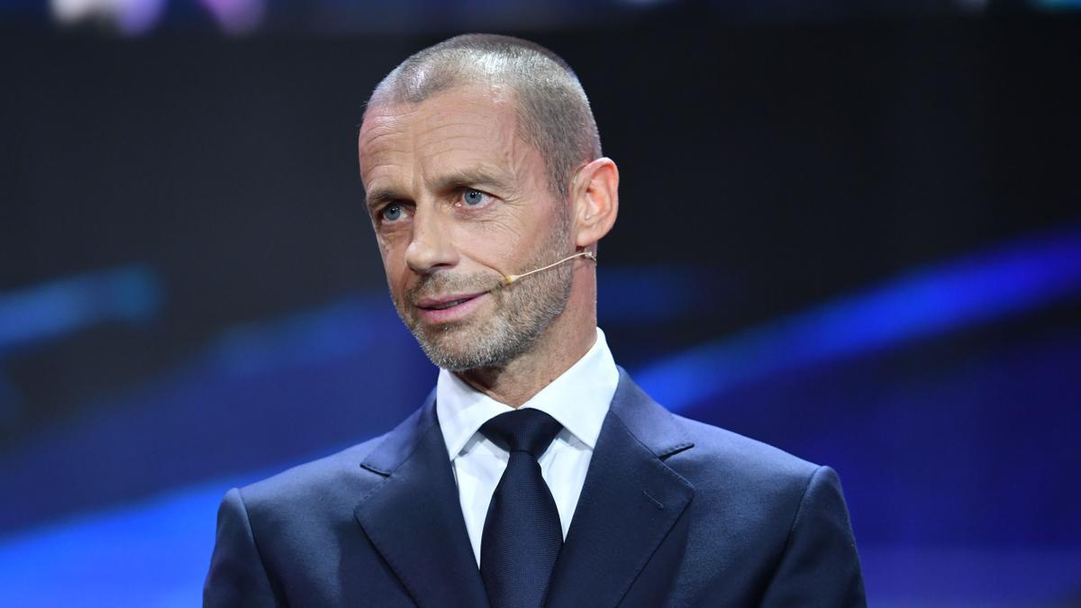 Aleksander Ceferin, presidente de UEFA.