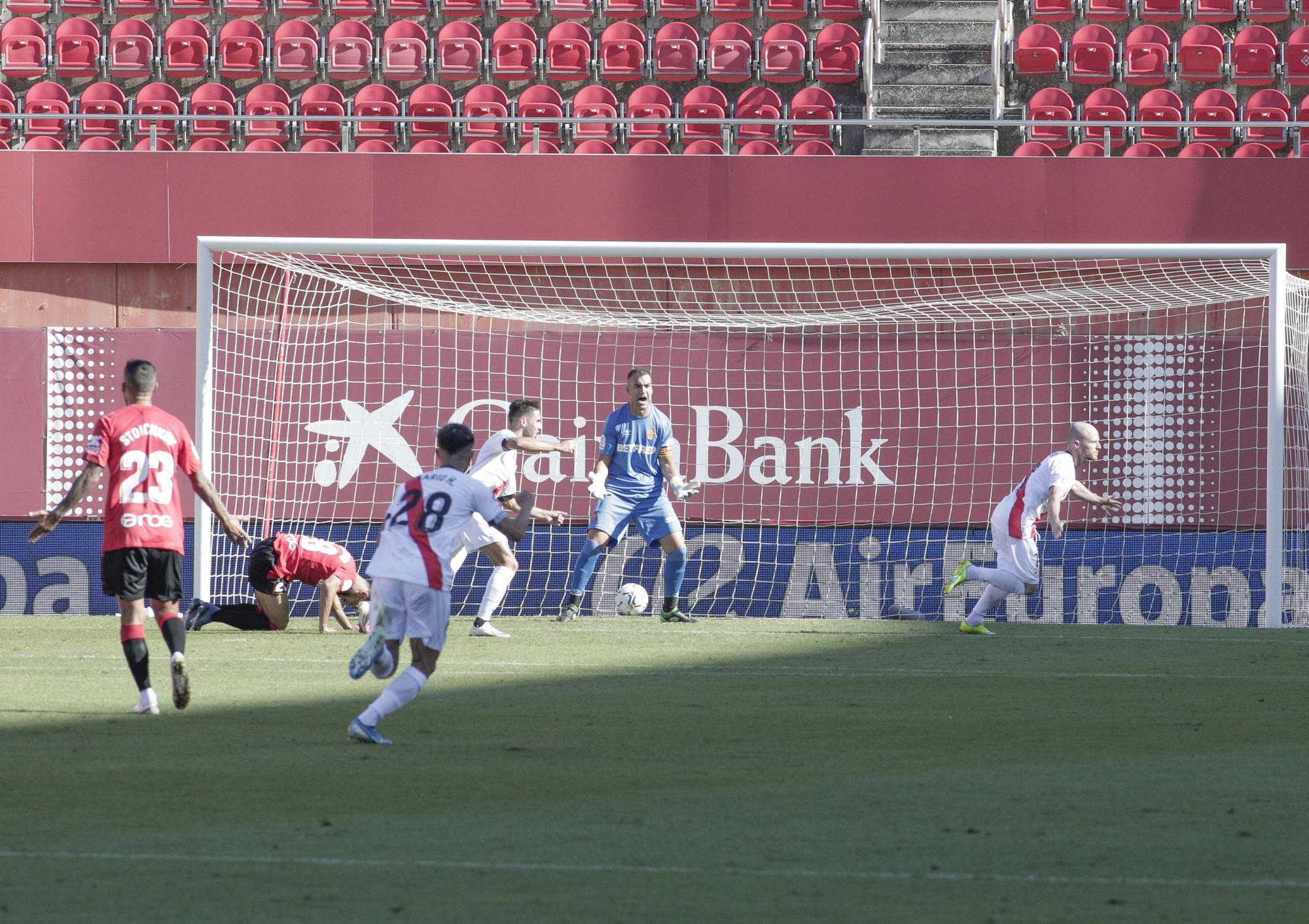 El Mallorca suspende en su estreno contra el Rayo