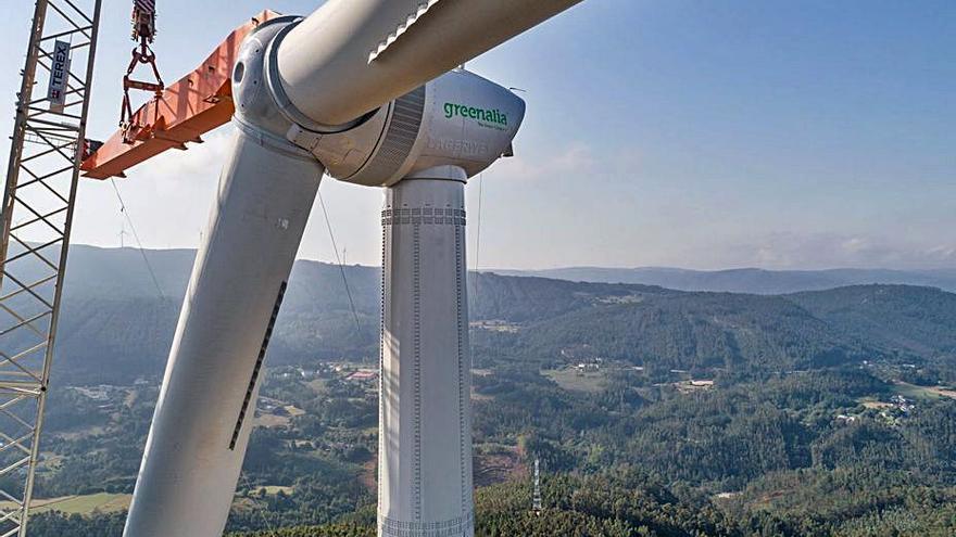 Greenalia reformula el parque eólico de Pena Ombra y elimina dos de los molinos tras las quejas por el impacto