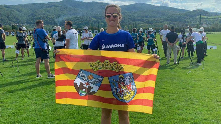 Àngels Alcaraz, 34ª en el europeo cadete de Eslovenia