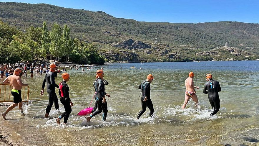 Éxito de la Travesía a Nado en el Lago de Sanabria, que superó las expectativas