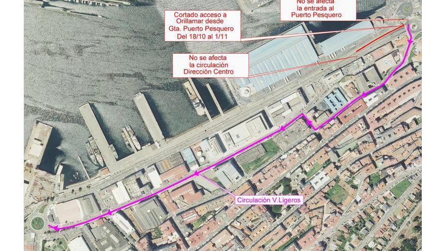 El tráfico se complica (todavía más) en Beiramar