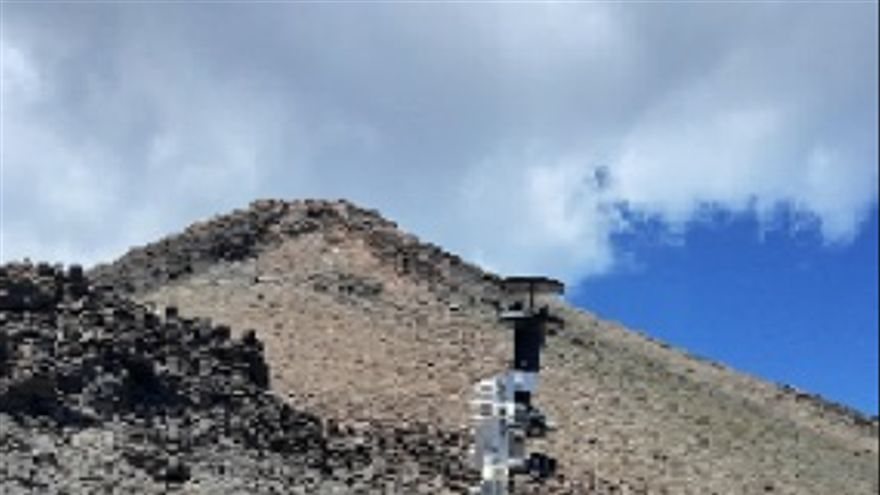 Un sensor meteorológico que viajará a Marte se pone a prueba en el Teide