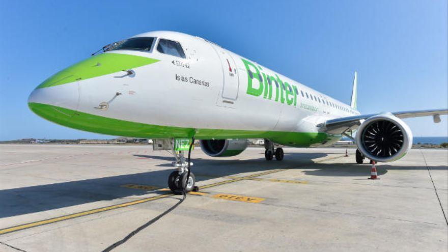 Binter refuerza seis de sus rutas nacionales con más vuelos en verano