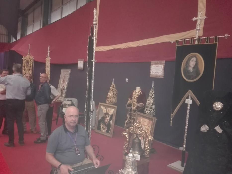 Exposición de arte cofrade en Bobadilla