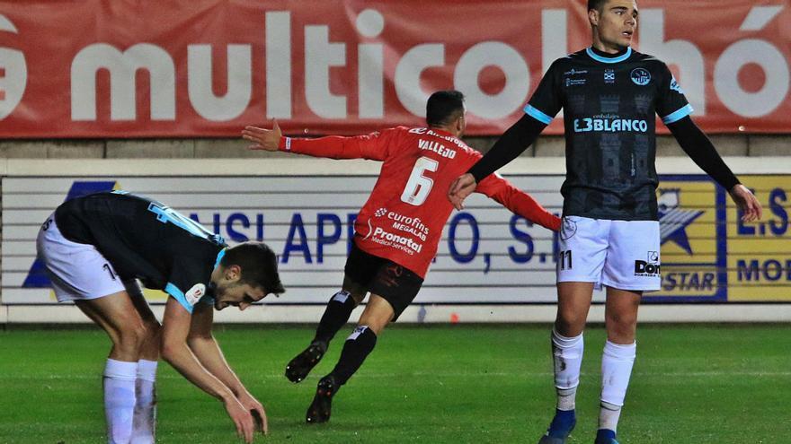 Uno de los goles marcados por el zamora ayer. | José Luis Fernández