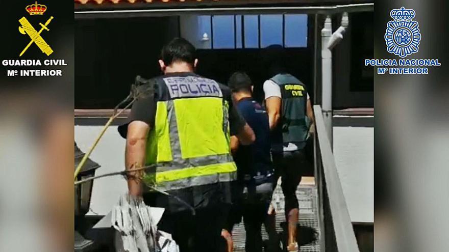 20 detenidos en una operación contra el tráfico de drogas en Canarias y Sevilla