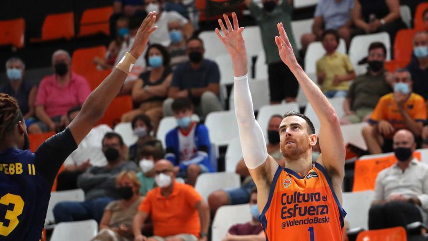 Horario y televisión del Valencia Basket-Real Madrid