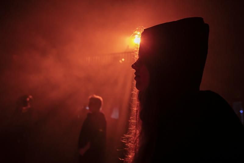 31.10.18. Santa Brígida, Gran Canaria. Casa del Terror en el Centro Cultural de la Villa de Santa Brígida . Foto Quique Curbelo  | 31/10/2018 | Fotógrafo: Quique Curbelo