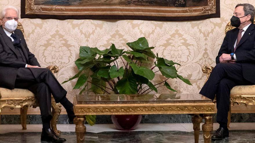 Draghi acepta formar gobierno en Italia y desvela sus 23 ministros