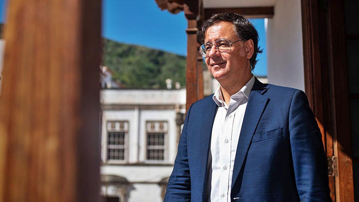 El alcalde de Icod de los Vinos, Francis González (CC).