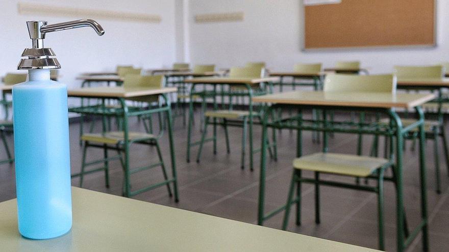 Test rápidos anticovid para descartar sospechas en los colegios de Andalucía