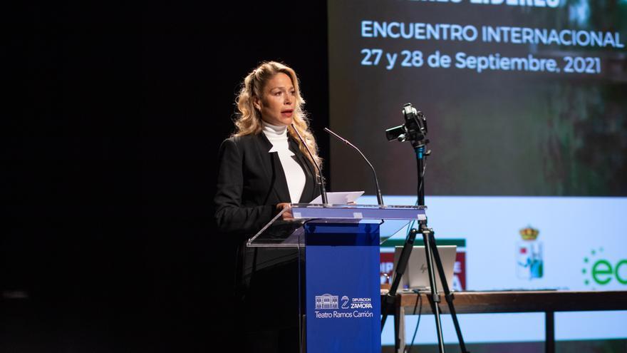 """Las Mujeres Líderes de las Américas trasladan a Zamora su lucha por """"la igualdad"""""""