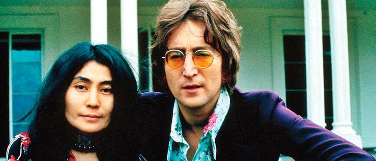 John Lennon y  Yoko Ono. información