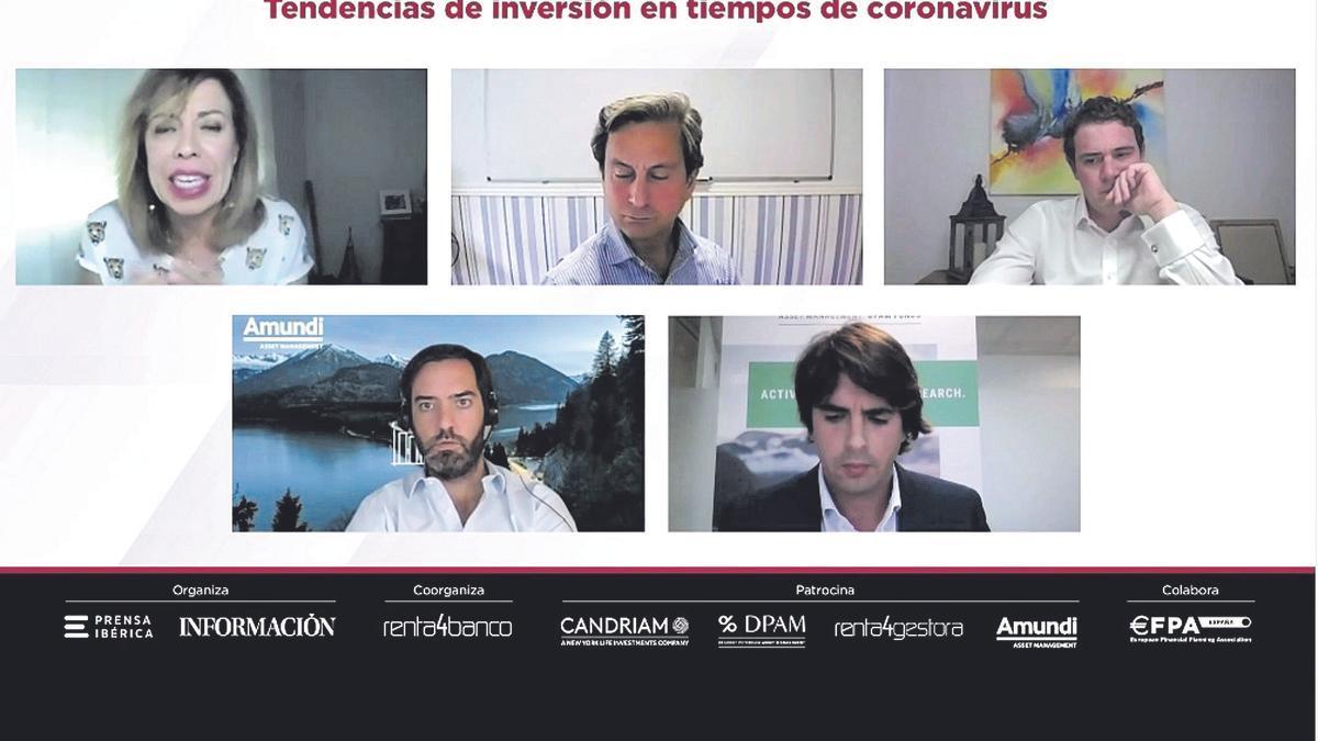 El encuentro online se celebró ayer por la tarde y forma parte de un ciclo de conferencias organizado por Renta 4 Banco y Prensa Ibérica.