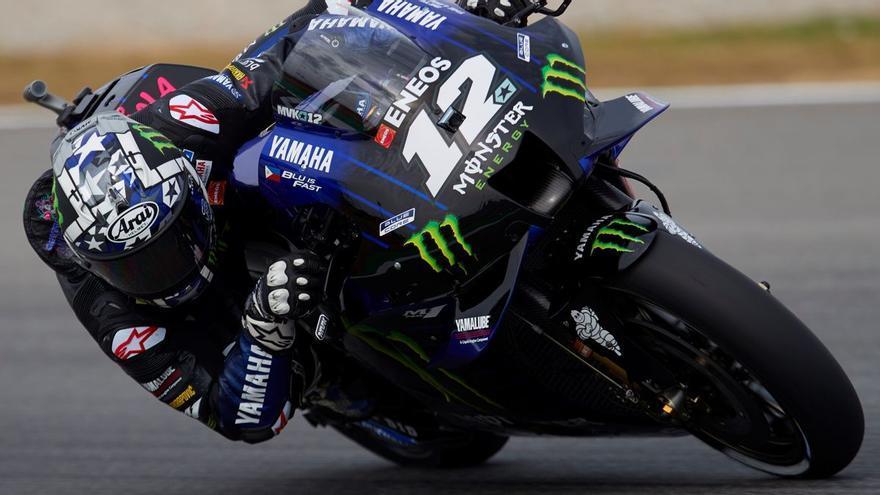 Yamaha baixa de la moto a Maverick Viñales