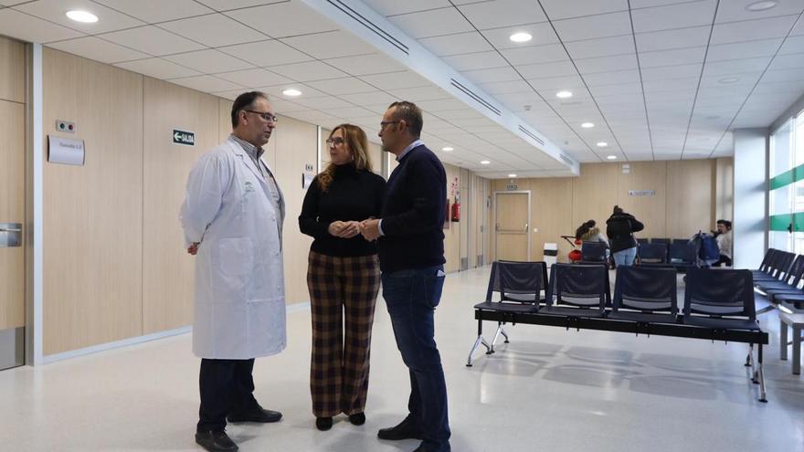 Más luz, espacios e intimidad en el nuevo centro de salud de Huerta la Reina