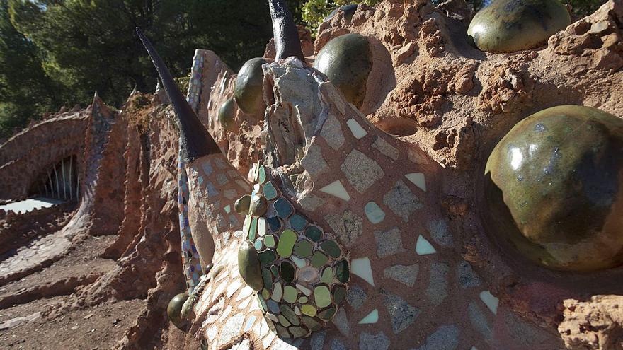 Un robo frustrado y el vandalismo ponen en jaque el 'Dragón de la Calderona'