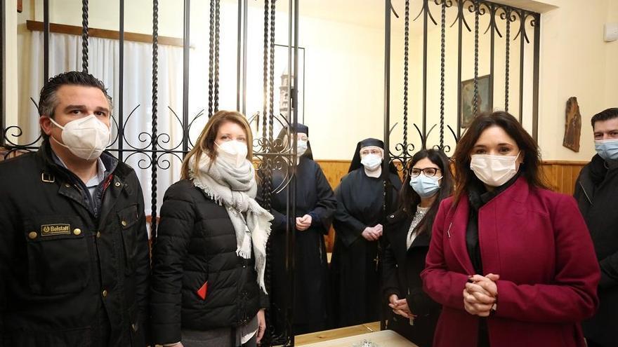 Las instituciones se unen para salvar la torre del convento de Archidona, del siglo XVIII