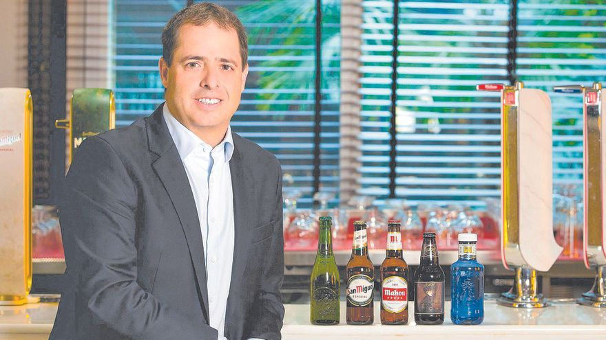 """Peio Arbeloa (Mahou San Miguel): """"En el consumo de cerveza pesa mucho la marca local"""""""