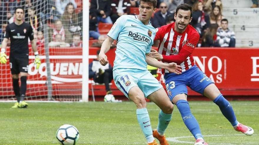 El Oviedo quiere a Marc Cardona, del Barça B