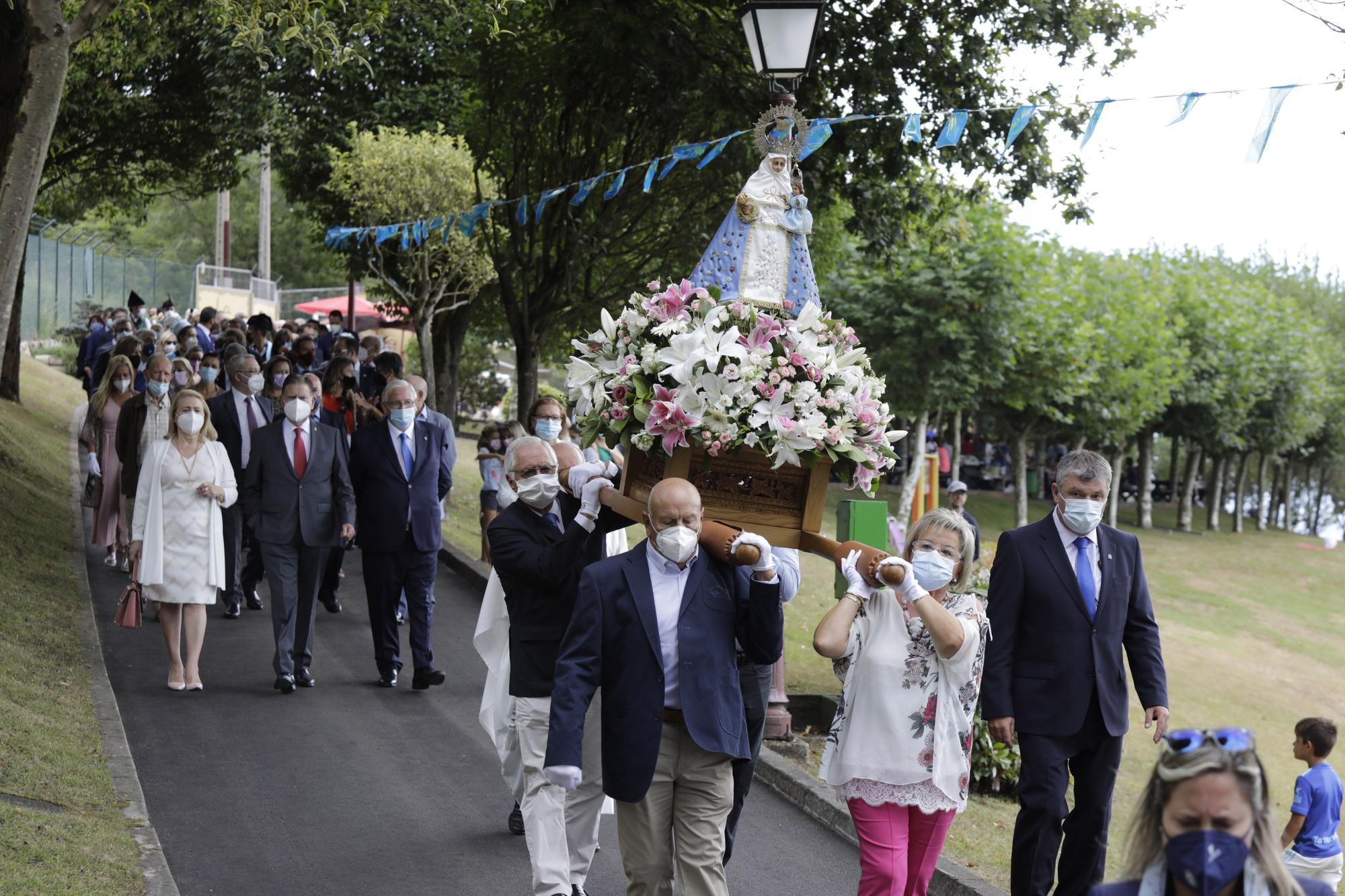 Fiesta de Nuestra Señora de Covadonga en el Centro Asturiano de Oviedo