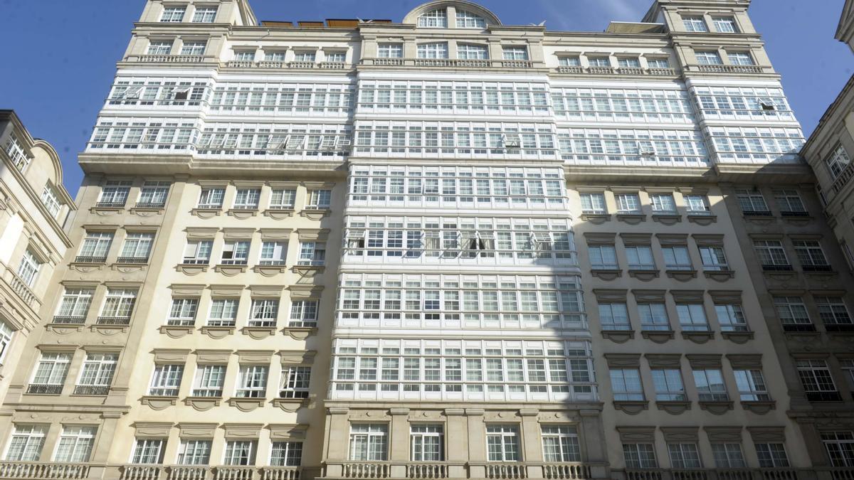 Fachada principal del Edificio Fenosa.