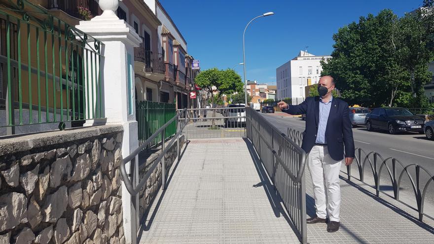 Culminan las obras de accesibilidad en la calle Corazón de Jesús de Lucena