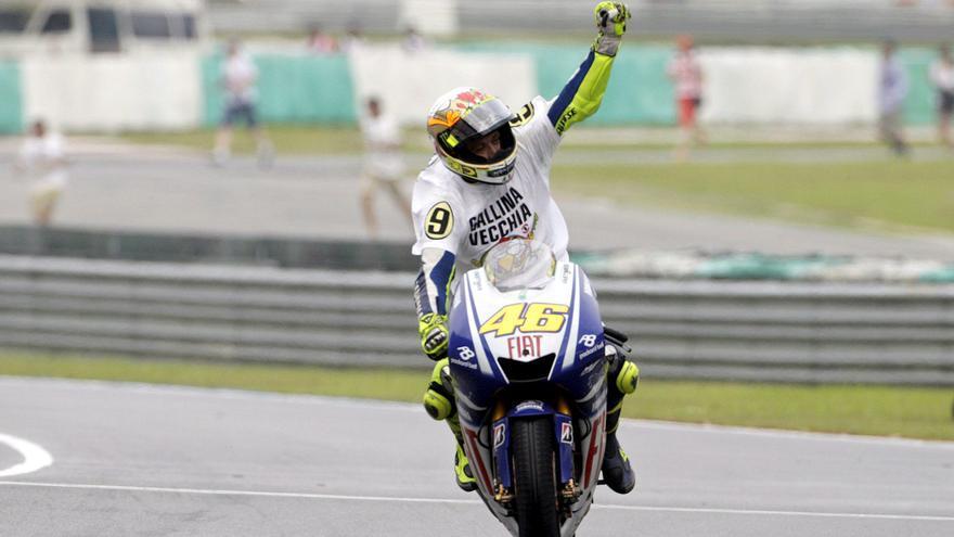 Los momentos más destacados en la carrera de Valentino Rossi