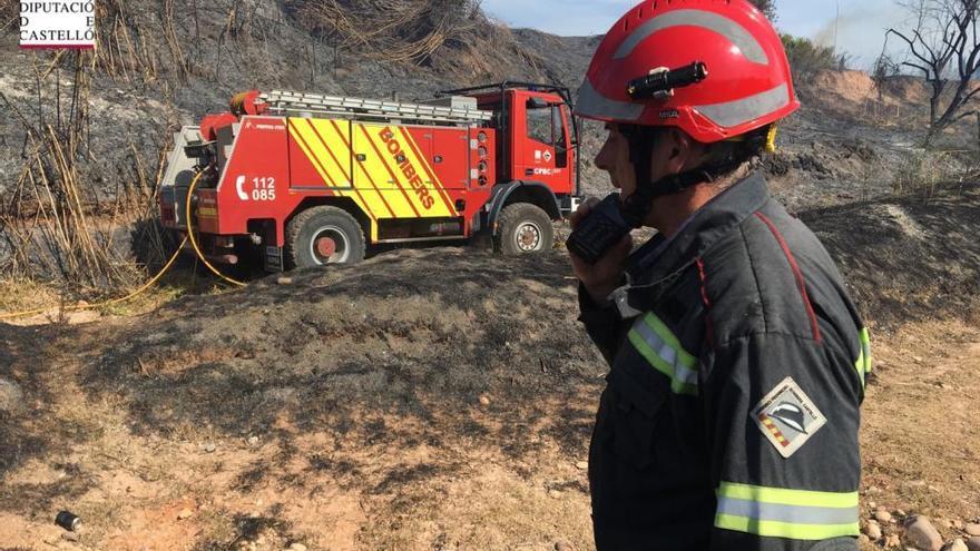 Sofocan seis incendios en Borriana, en Nules, Almassora y Traiguera