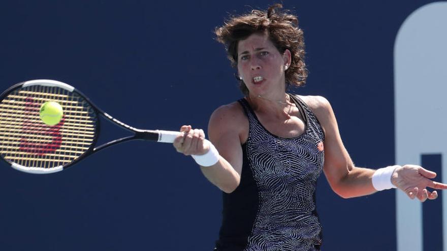 Venus Williams despide a Carla Súarez de Miami