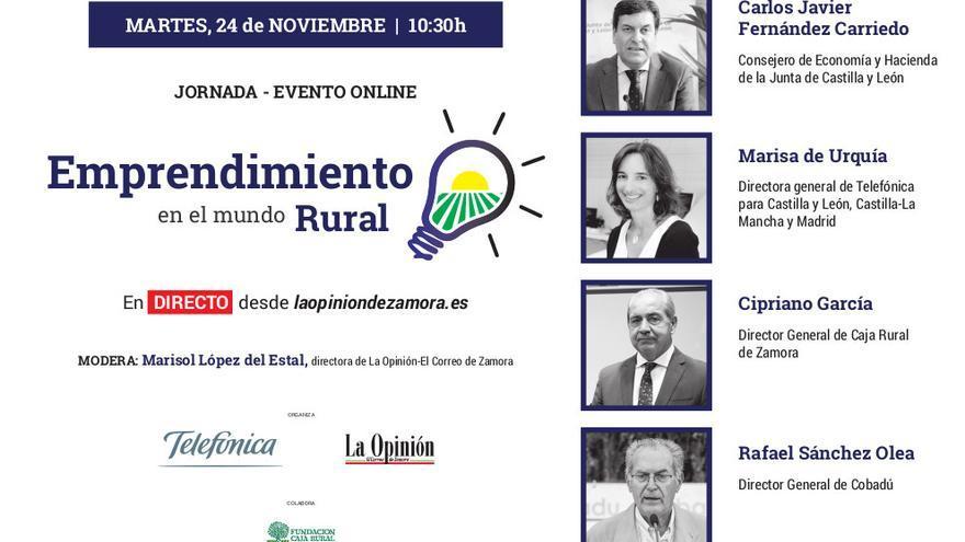 Evento Emprendimiento en el Mundo Rural