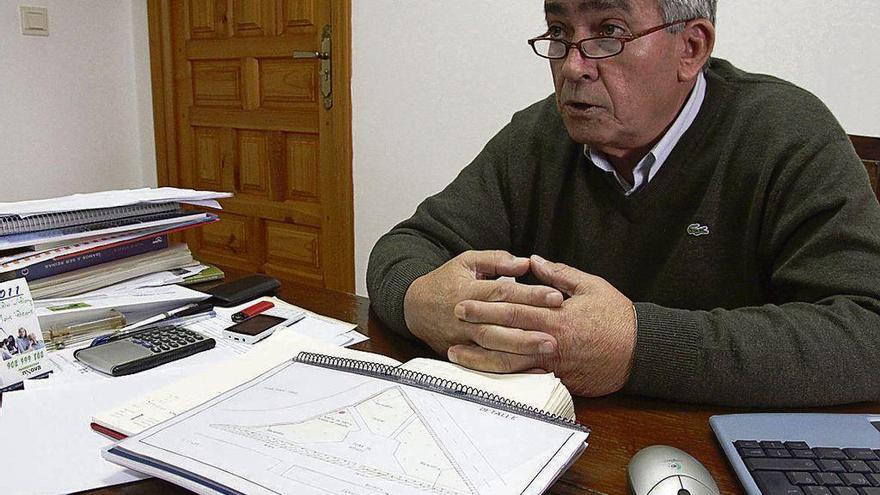Manuel Valerio Febrero López, alcalde de Villanueva del Campo.