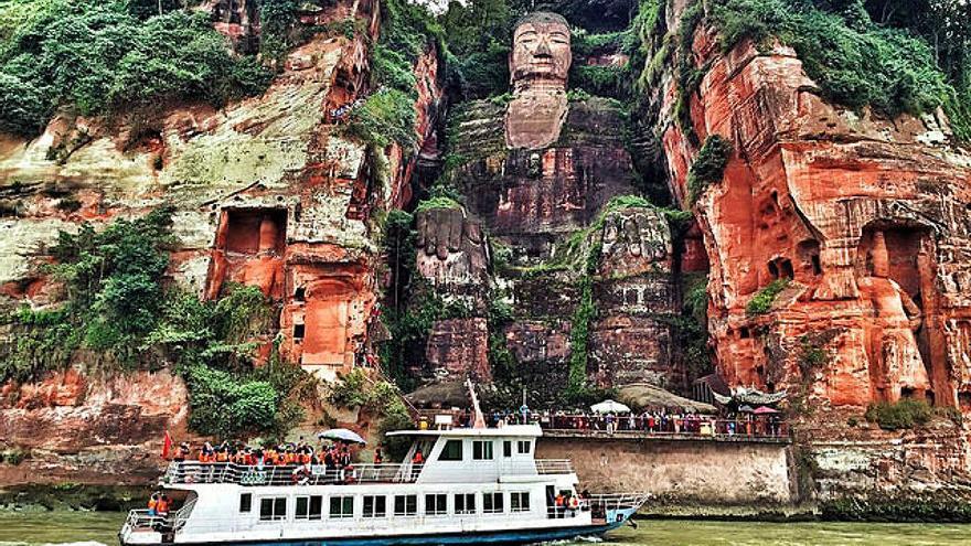 Gran Buda de Leshan: el gigante chino