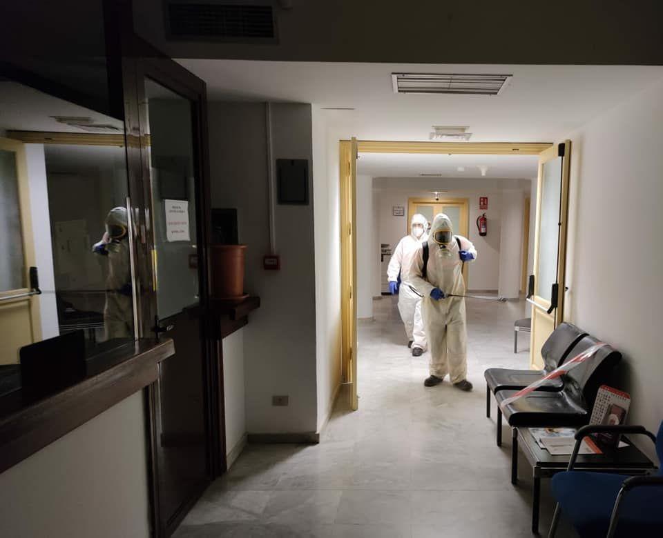 Desinfección de Covid-19 en Arrecife
