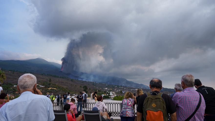 La nube de azufre del volcán de La Palma llegará a la Comunitat Valenciana