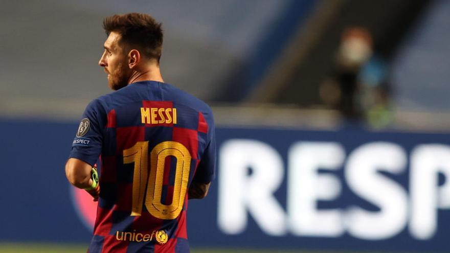 Messi ejecuta la cláusula para irse y no se presentará a los entrenamientos