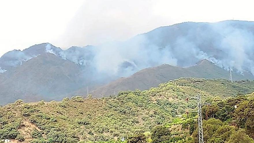 La Junta inicia trabajos preventivos en cauces afectados por el incendio de Sierra Bermeja